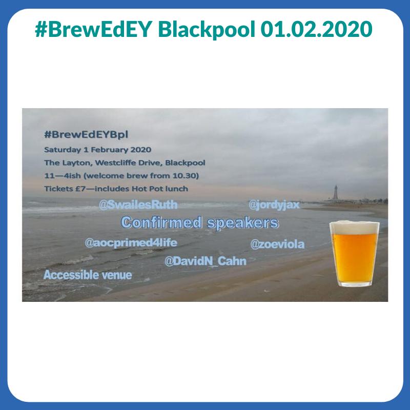 #BrewEdEY Blackpool 1