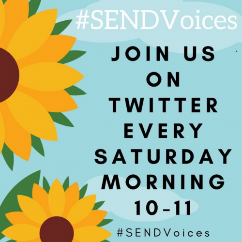 Twitter Chat Page - #SENDVoices
